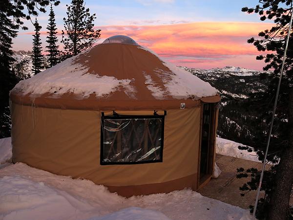 Mt Zimmer Yurt Cooke City MT