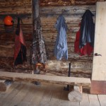 Inside the Woody Creek Cabin