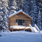Early winter at the Woody Creek Cabin