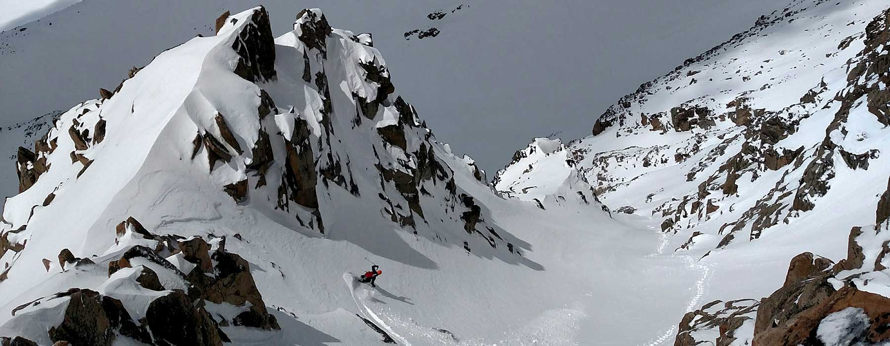 Skiing Granite Peak